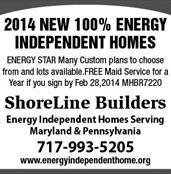 $150,000 New Constructed Home's Energy Independent Home's