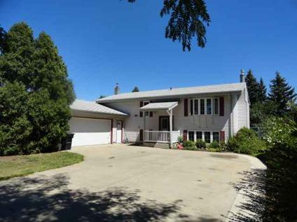 $189,900 Bismarck Three BR Two BA, Nice home with a double garage.