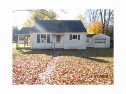 $38,500 This is a Fannie Mae Homepath Property. Cute bungalow in Brownsburg, nice lot