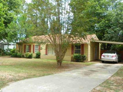 $49,900 Aiken 3BR 1BA, Priced to sell! This home is a great starter