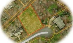 Beautiful private wooded lot on peaceful cul-de-sac. Lot has sufficient slope for a walk-out basement. No 3% development fee with this lot!Listing originally posted at http