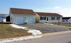 3551 Ruffed Grouse Dr Dover, PA 173153 bedroom - 1 bathroom2 car garage with loft (built 2 years ago)Finished Basement with unfished storage-New windows installed within 2 years include lifetime home warranty-2 new patios recently done this year-Shed