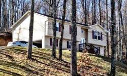 This recently built home on two acres of secluded land just outside of the town limits of Wise. Features hardwood and ceramic flooring, detailed lighting, and stainless steel appliances. Unfinished game room/den and full bath downstairs. Long range
