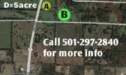 NO CREDIT CHECK....Only $169 per month for 2.5 acres near Greenbrier or Vilonia..... Cold Springs Retreat area.........small down payment.....Septic, Water, elect, driveway.......Horses allowed......other tracts available....Call 501-297-2840 for details
