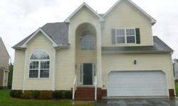 Beautiful Transitional home located in Chesterfield County! This home features 4 bedrooms, 2.5 baths, beautiful kitchen with attached breakfast area, spacious family room with fireplace and formal living/dining rooms. The breakfast nook opens onto the