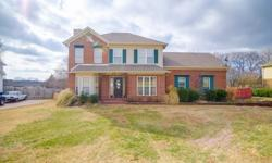 Fall in love with this all brick home in the quiet community of Arbor Lakes in Thompsons Station just off Lewisburg Pike. You will love the room between your neighbors! A lovely green space is situated right out your front door and for your enjoyment. The