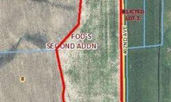 40 Acres with Rural Housing Eligibility, North of Colton. Rolling Terrain, Private Setting between Sioux Falls and Madison South Dakota, Tri-Valley Schools!