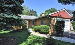 Charming 3bd 1ba ranch has a large family room withgreat view of park like backyard loaded with mature trees, raspberry patch and deck to enjoy those summers bbqs. Close to commuter train, and Arlington park racecourse. Home needs some updating but it is