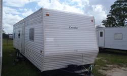 Don?t rent?.Own Your Own!! Take with you when you move!! Will make excellent temp home for working in the oil field!!! What a deal!! You can own a 30ft Gulf Stream Cavalier travel trailer for as little as $22, 500. Sleeps 6 comfortably, Appliances and