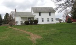 Come and enjoy this classic old farmhouse with many updates. 97 acres with cropland, woods, trout stream and stately older maple trees accent your new home. Great for ATV's, hunting, nature hikes, and fishing; yet only 7 miles from downtown Norwich NY.