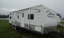 Don?t rent?.Own Your Own!! Take with you when you move!! Will make excellent temp home for working in the oil field!!! What a Deal! Own a 30ft 2006 Wrangler Travel Trailer w/Slide Out for as little as $30,000! This unit is in great condition inside &