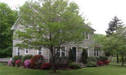 Lovely Vintage Colonial On 1.29 Acre Level Lot With a Pond, Babbling Brook and Beautiful Plantings Including Many Perennials Boarded By Land Trust Property. Very Convenient Location This 5 Br Col Has 2 Kits So Could Be Used As 1 Family Or For Au Pair, in