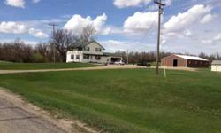 Amazing Haven - Come visit this spacious farmstead with appx 12 acres located just a few miles from Berthold. Enjoy warm summer nights by the pondwatching the wildlife! Nice large shop with concrete floors & 14' drive through sliding doors. 3 small