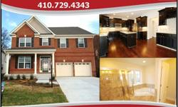Lennar Brick Front Luxury Single Family 6 BR, 5.5 BA Colonial w/ 2 Car Garage in Highland Meadows!! Gourmet kitchen w/ maple cabinets, hardwood floors, granite counters, wall oven and GE Profile SS Appliances. Featuring