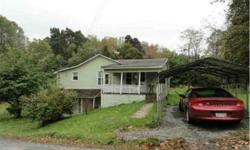 House out in the country, forest area. 3 bedroom home on one acre. Mortgage payment would be around $370 month PITI. Quiet, lots of privacy, safe neighborhood, only 8 miles south of city of Bridgeport WV. Priced to sell a $64,900. Located in small town of