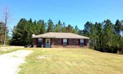 Feels much larger than actual square footage. All brick home situated on a peaceful cul-de-sac on private one acre! Amanda Hendry is showing this 3 bedrooms / 2 bathroom property in Wiggins. Call (228) 234-2121 to arrange a viewing.