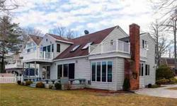 Waterfront home! 100' of direct waterfront. Water views from every room. Dana Flanagan is showing this 3 bedrooms / 2 bathroom property in E Hampton. Call (860) 796-0562 to arrange a viewing.
