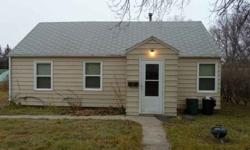 Nice home with metal siding and newer windows. 2 bedrooms and 1 bathroom.Listing originally posted at http